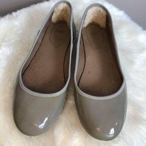 Ugg Antora Patent Ash UGGpure Ballet Flat 7.5